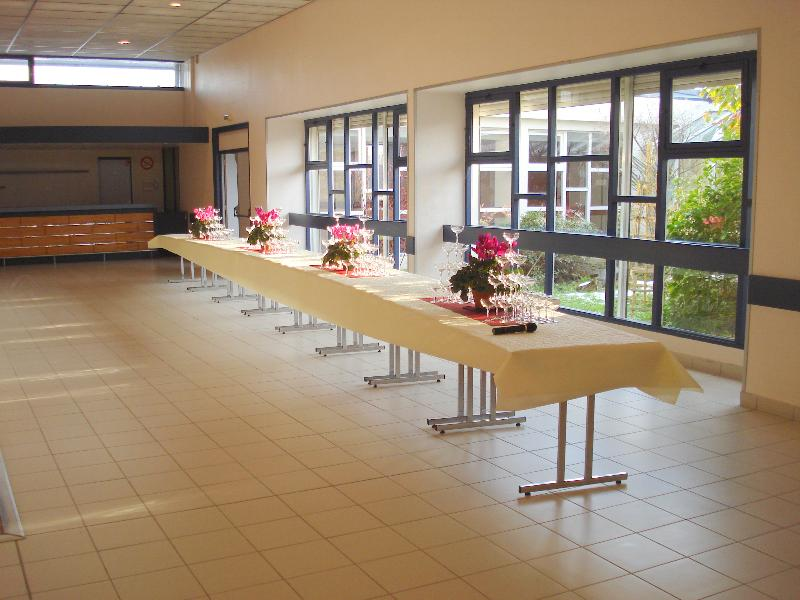 Intérieur Salle des fêtes